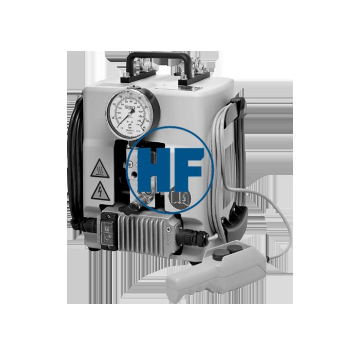 Переносная гидростанция для гайкореза