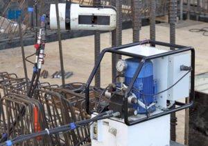 гидравлические прессы опрессовки арматуры Hydrofab