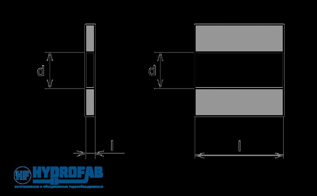Квадратичный турбулентный постоянный дроссель - Гидрофаб