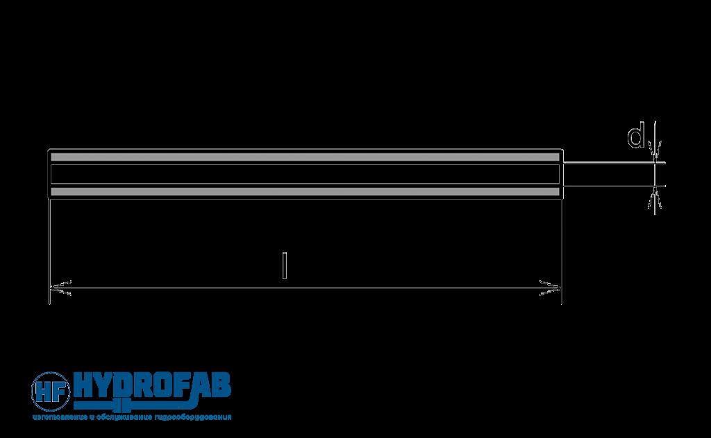 Линейный ламинарный дроссель - Гидрофаб
