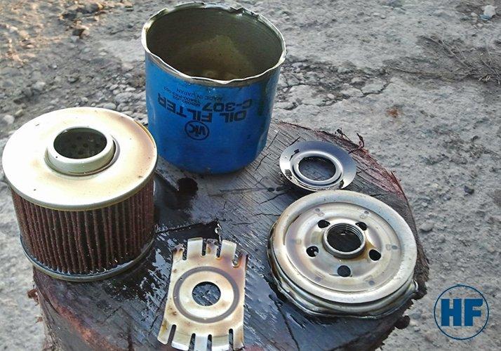 Гидравлический фильтр источники загрязнения - Гидрофаб